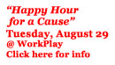 A Happy Hour for a Cause
